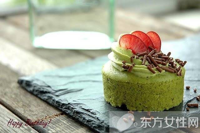 最爱那一抹绿 揭密抹茶蛋糕制作方法