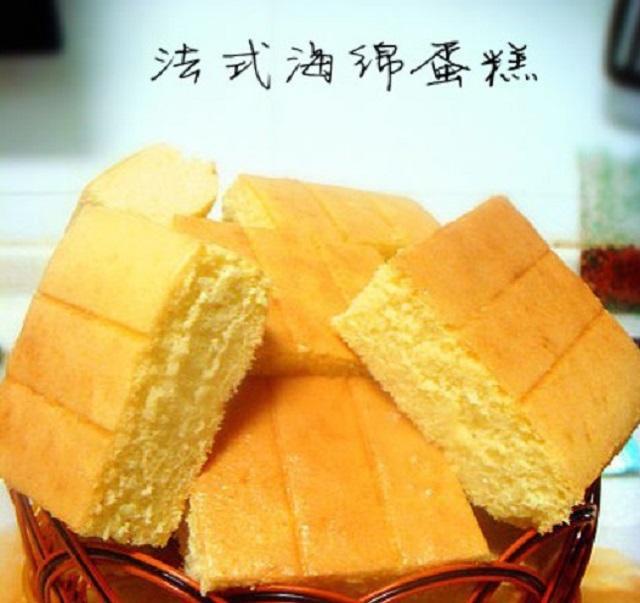 蛋糕DIY之第二种法式海绵蛋糕基本制作方法、步骤、流程