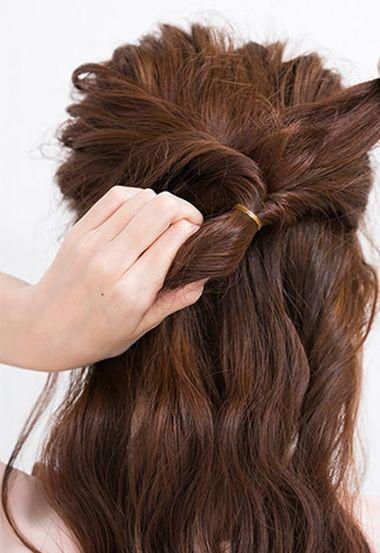 扎两个麻花辫子的发型