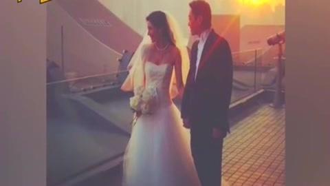 李嘉欣的婚纱照
