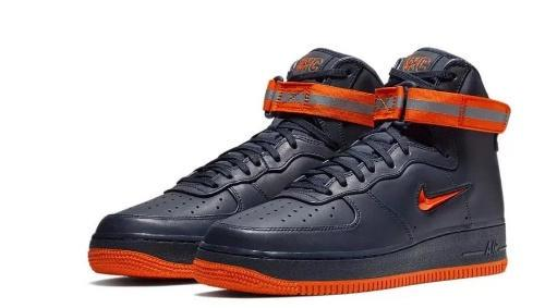 "Nike 发布""New York's Finest"" Air Force 1 套装"