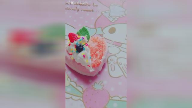 手工艺品-制作最小最迷你仿真蛋糕,上面摆放的水果很多哦