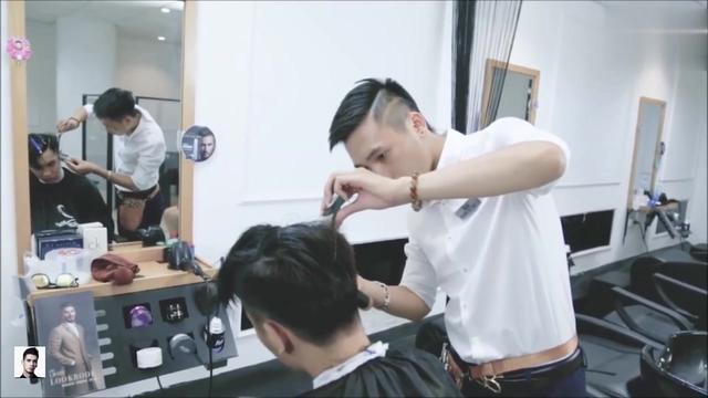 三七分发型男怎么剪