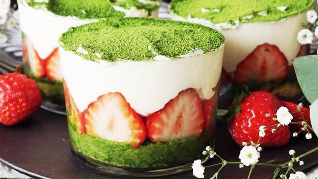 抹茶蛋糕的家常制作方法,香甜可口倍好吃,招待亲朋好友特有面子
