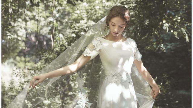 白羊座适合的婚纱