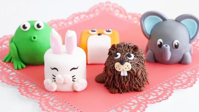 这么多萌宠可爱的小动物翻糖蛋糕,快挑一个你最喜欢的吧!