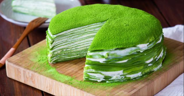 抹茶蛋糕在家也能做,这个方法特简单,味?#21862;?#27604;蛋糕店卖的差