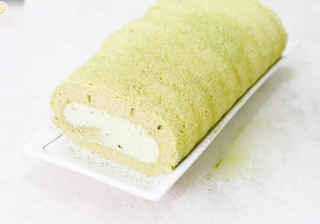 「烘焙教程」保证你一学就会,绝对不会作废的抹茶蛋糕卷