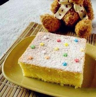 在家便宜過時海綿蛋糕的做法,裝置然擔心又美味卻口