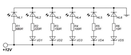 介绍一款简单的电量指示电路