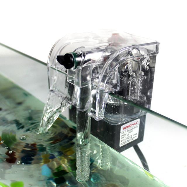 用手清理魚缸雜質太麻煩,現在流行魚缸過濾器,水清魚好高效節能圖片