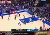 状态火爆!NCAA杜克大学次战状元热门锡安砍下27分16篮板6盖帽4助