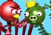 愤怒的小鸟外星人和机器人-版本3D动画仿冒