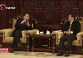 陈豪会见上海市慈善基金会理事长冯国勤