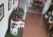 台湾海峡6.2级地震 厦门网友稍早前发来的视频