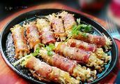 蘆筍培根炒金針菇的做法步驟圖,怎么做好吃