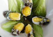 简单琥珀蛋怎么做好吃又简单,做法图解分