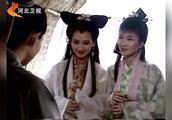 《新白娘子传奇》经典片段;白素贞与许仙一见钟情,同舟共渡
