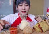 「吃播小陆」煎饼果子 饭团 芝麻球-早饭