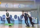 当谢娜和吴昕同时穿上空姐制服,何炅大笑,差距不是一般大