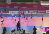 CUVA大学生排球联赛南方女排半决赛中山大学3-0南京大学