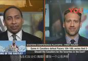 美国杨毅改口预测 我相信76人会进入总决赛 而不是骑士队-_标清