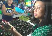 菲律宾巴拉望的海鲜市场,这么大青口一斤居然只要两块多人民币