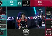 德杯次日败者组,小狗拿出了本命薇恩应对RNG跟EDG决胜局!全局