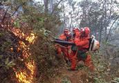 香格里拉森林火灾致1死6伤 目前明火被扑灭 嫌疑人被控制