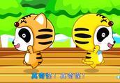 小朋友呆萌献唱两只老虎,太可爱了!你能记得全部歌词吗?