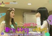 NANA到2NE1的待机室去拜访前辈,和朴春还有CL进行了亲密接触