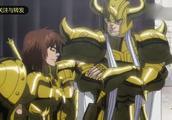 圣斗士星矢 一位黄金圣斗士出现在天马面前,天马惊呆了