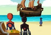 终极蜘蛛侠,海盗蜘蛛船长的船员有火箭格鲁特还有海盗怪鸭