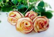 苹果玫瑰花的做法5分极速11选5图,苹果玫瑰花怎么做