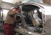 大叔从废车场收购事故沃尔沃S60 经过翻新修复后再成新车
