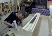 看小伙是如何制造沙发的,虽然还没看到成品,但这用料质量不会差