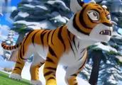 熊出没:虎妞大战熊大,看看谁是最厉害的森林之王