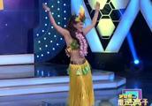特殊的美女嘉宾,现场展示夏威夷舞蹈,很是性感动人了!