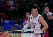 辽宁vs四川,韩德君最近中投是真准!郭艾伦突破分球