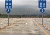 现场实拍:广东清远粤联驾校科目三四号线练车教学