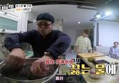 咸素媛生了女儿,陈华爸爸带了一条大鱼熬汤,韩国嘉宾又惊了!