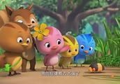 萌鸡小队:萌鸡们认识了新朋友放屁虫,还可以免费吃到爆米花哟!