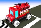 用玩具街车辆学习儿童的颜色油罐车运输车停放儿童玩具