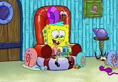 海绵宝宝的凤梨屋都是蜗牛,大家给他起个外号蜗牛哥