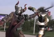 铠甲勇士刑天:铠甲们和幽冥魔正在激战,库拉带着炎帝出现了