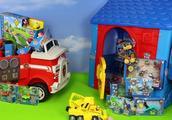 狗狗巡逻队超多款玩具大集合 巡逻车 瞭望塔 汪汪队立大功玩具