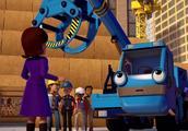 新巴布工程师 最强的吊车团队是小小和小福 得到的领导表扬