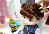 可爱娃娃的粉色南瓜马车 可爱娃娃拆封奇趣蛋