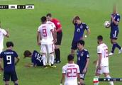 亚洲杯起争执,伊朗队和日本动手,这画面罕见了