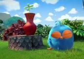 愤怒的小鸟幽默动画,打不破的花瓶
